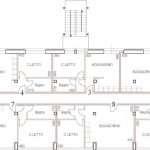 Centro Franco Chiarella - 09 Piano terzo a progetto
