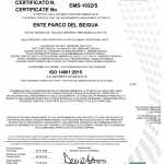 Certificato iso14001 2015, clicca per ingrandire