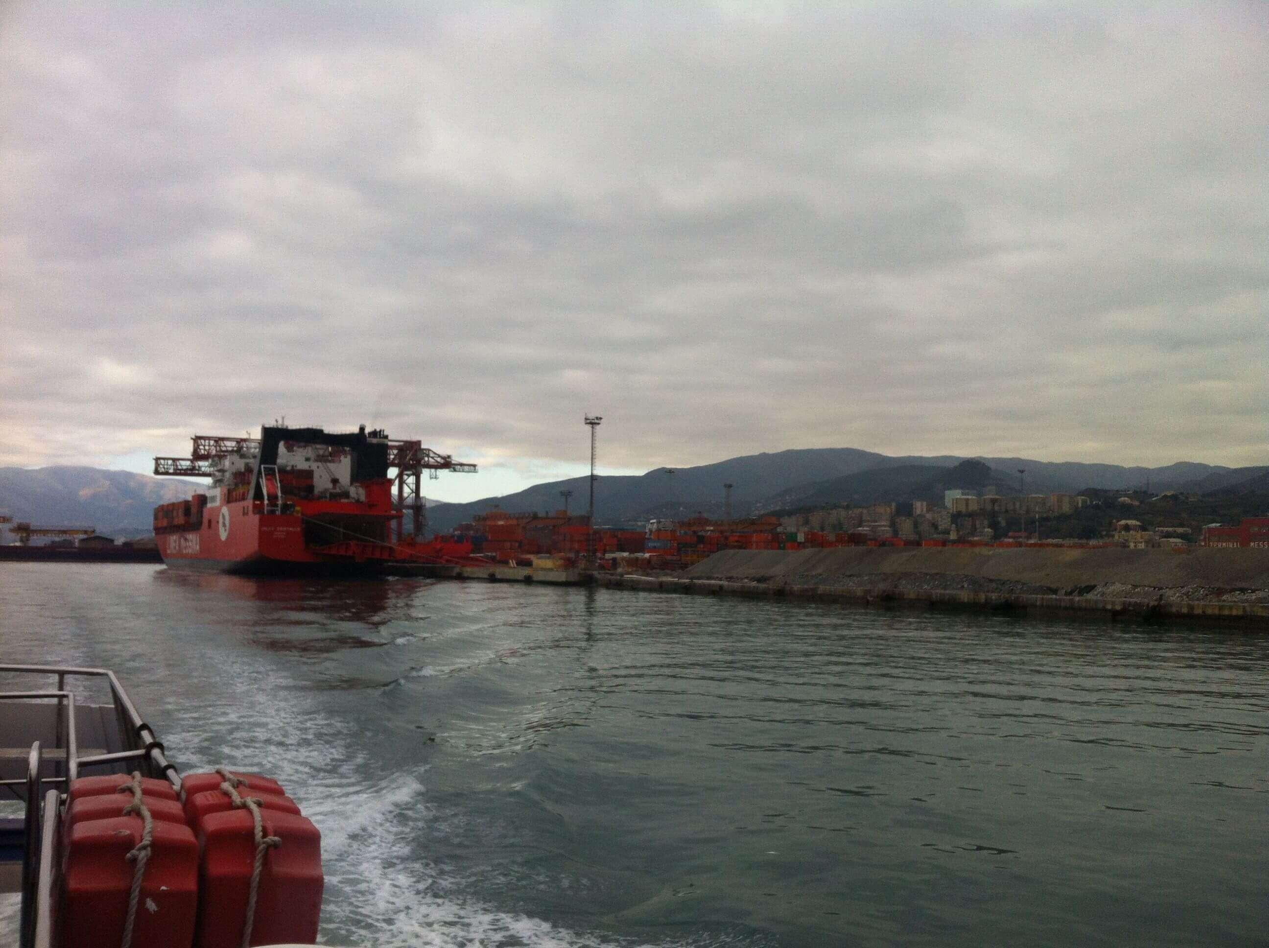 Porti, Delrio a Genova: