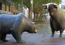 Borsa orso toro
