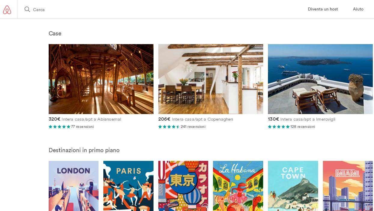 Incontri Airbnb