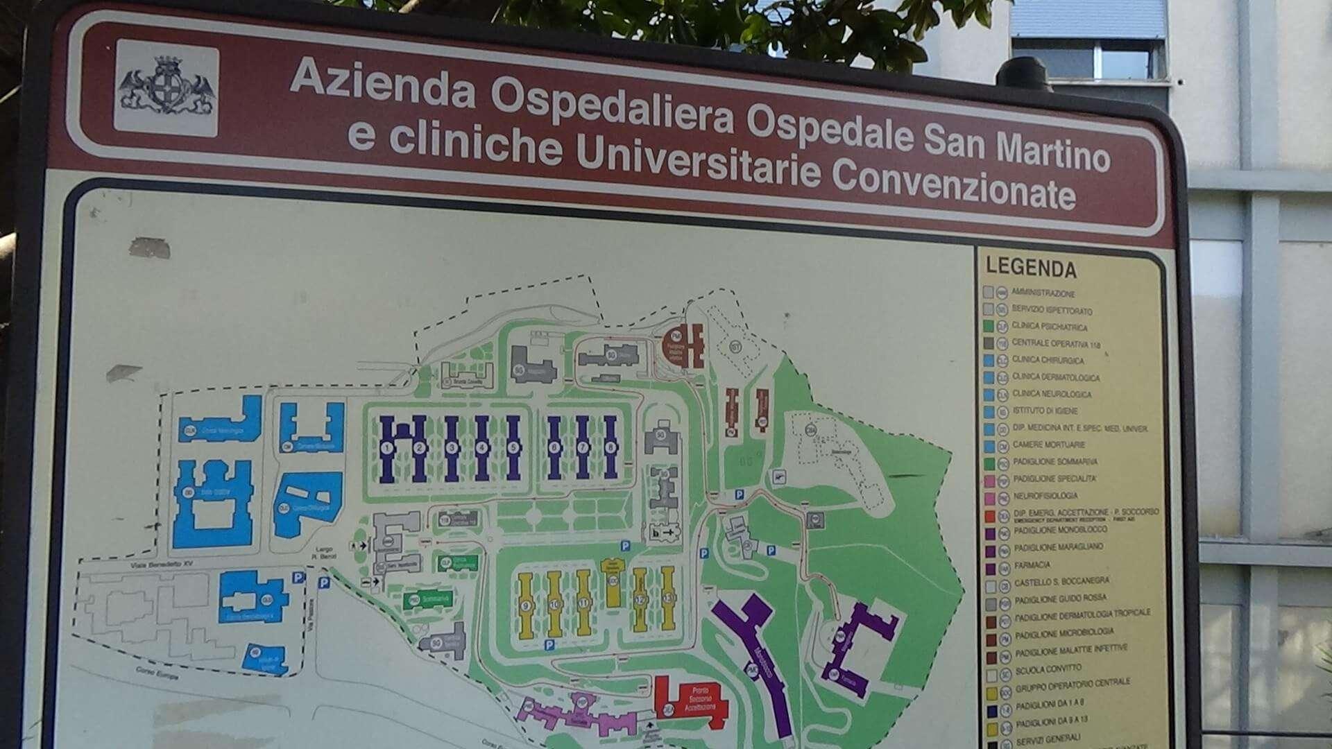 Polo onco-ematologico al San Martino, La Valle: «Termine lavori a ...