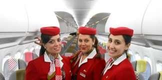 hostess, assistenti di volo