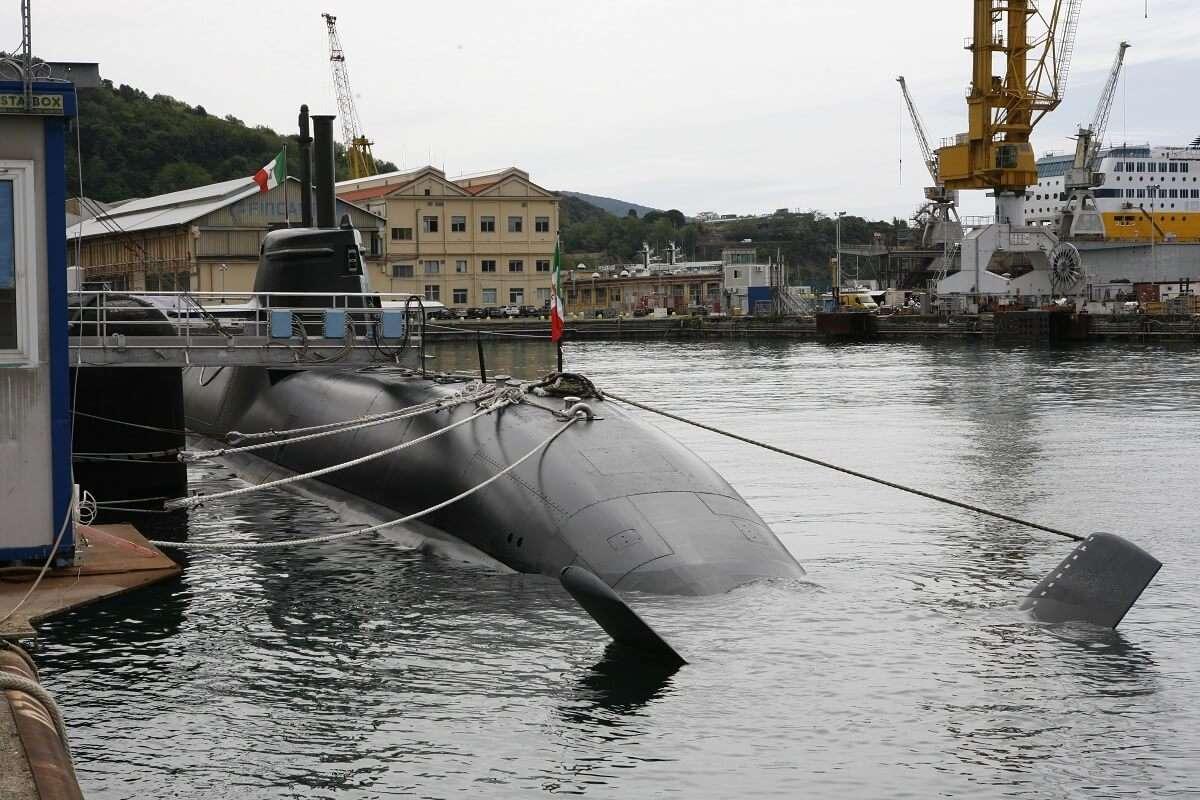 Fincantieri: La Spezia, consegnato il sommergibile Romeo Romei