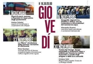 Popoli in movimento, quattro eventi per capire il presente a cura della Bottega Solidale @ Casa della Giovine