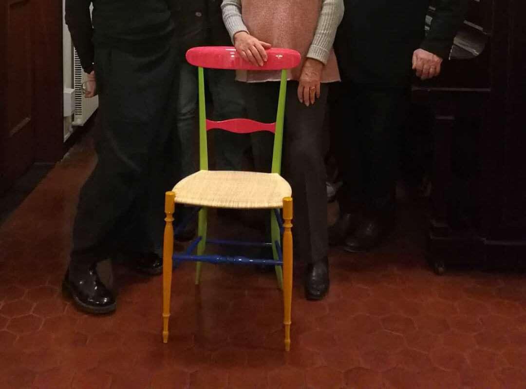 Museo della sedia leggera di chiavari arriva la - Sedia di chiavari ...