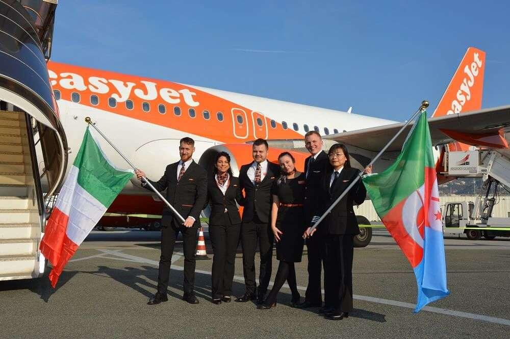 Easyjet vola da Genova a Londra